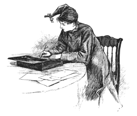 Jo March Writing 1880 Edition Page 325