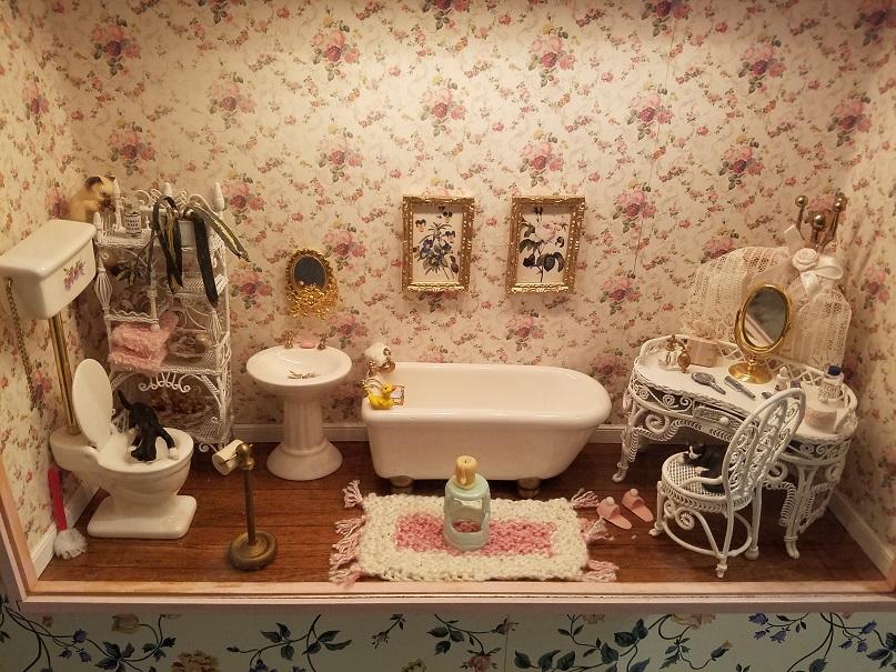 Bathroom Room Box